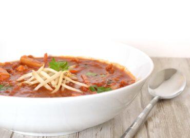 Chinese zoetzure tomatensoep